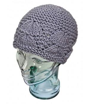 Bonnet motifs éventail