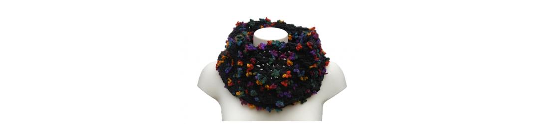 tour de cou, snood, écharpe, accessoires femme, accessoires en laine, accessoires d'hiver