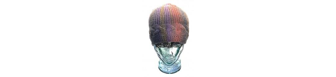 bonnets d'hiver femme fait main